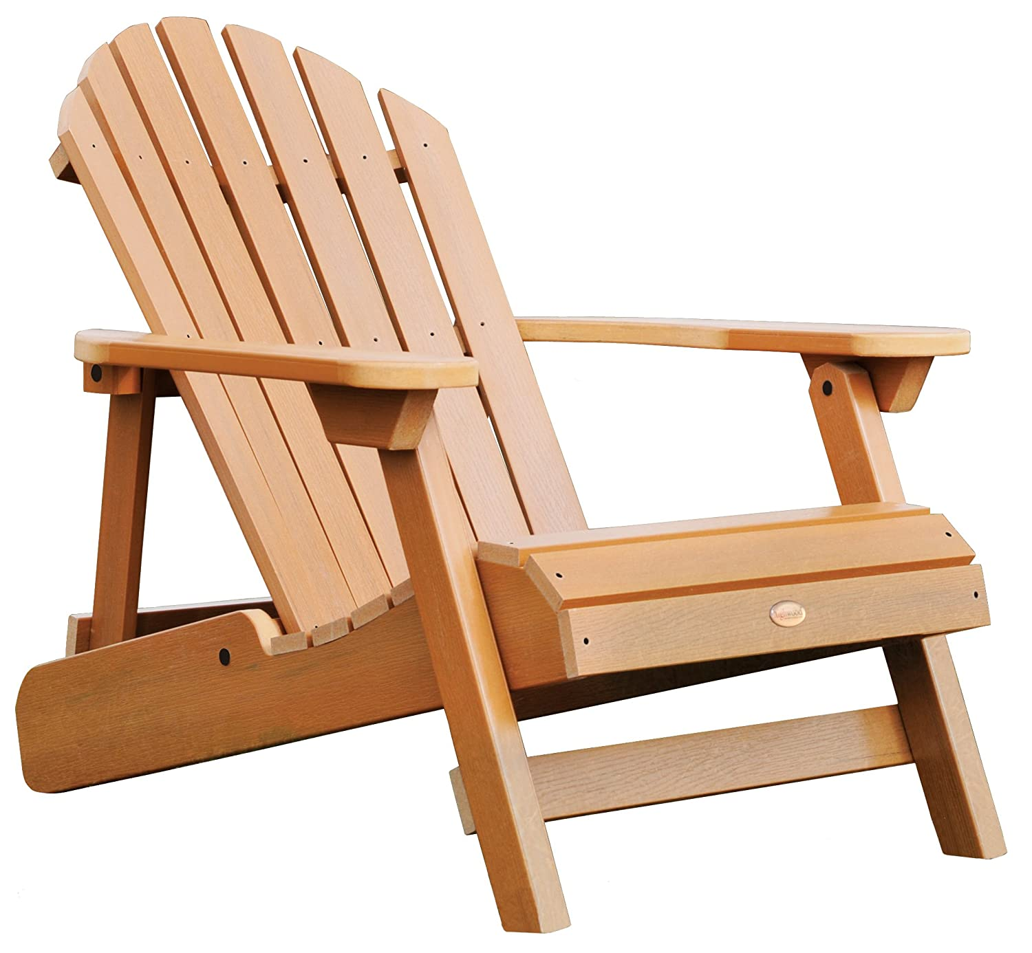 Amazon.com  Highwood Hamilton Folding and Reclining Adirondack Chair Adult Size Toffee  Costco Adirondack Chairs  Garden u0026 Outdoor  sc 1 st  Amazon.com : wooden reclining garden chairs - islam-shia.org