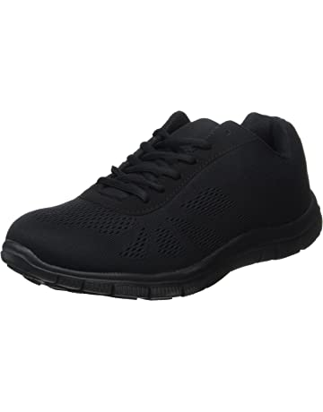 1b55f4d82d3 Get Fit Mens Mesh Running Trainers Athletic Walking Gym Shoes Sport Run