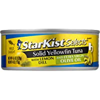 StarKist E.V.O.O. Solid Yellowfin Tuna with Lemon Dill and Extra Virgin Olive Oil