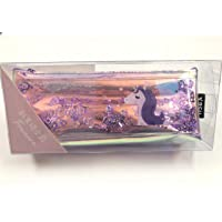 Paaroots Unicorn Shimmery Water Pouch Pencil Case Makeup Purse Travelling Bag for Girls (Purple Water Pouch)