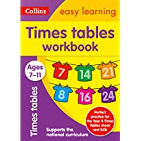 Times Tables Workbook Ages 7-11: Ideal for Home Learning