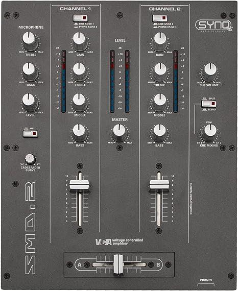 SYNQ Pro - Mesa de mezclas (2 canales, puerto USB): Amazon.es ...