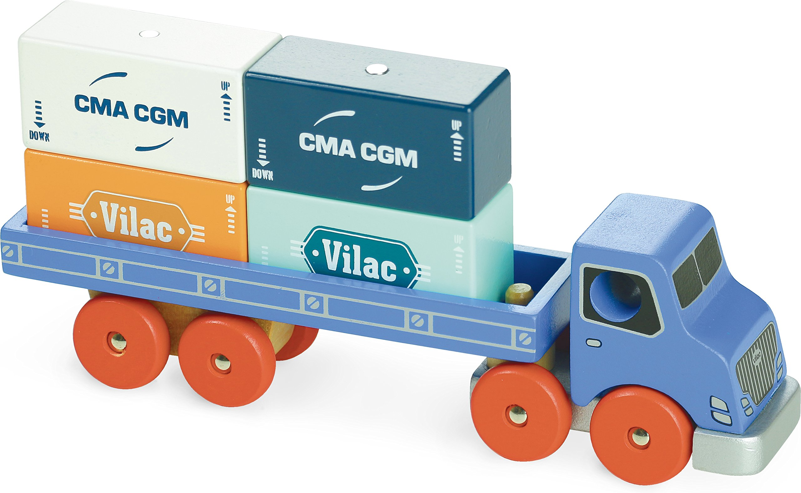Vilac Vilac2358 Container Truck, Multi-Color