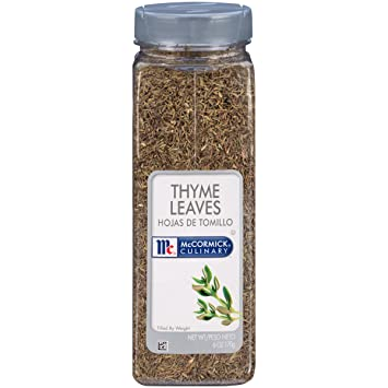 d370022cd0d3 Amazon.com   McCORMICK Culinary Thyme Leaves   Thyme Spices And ...