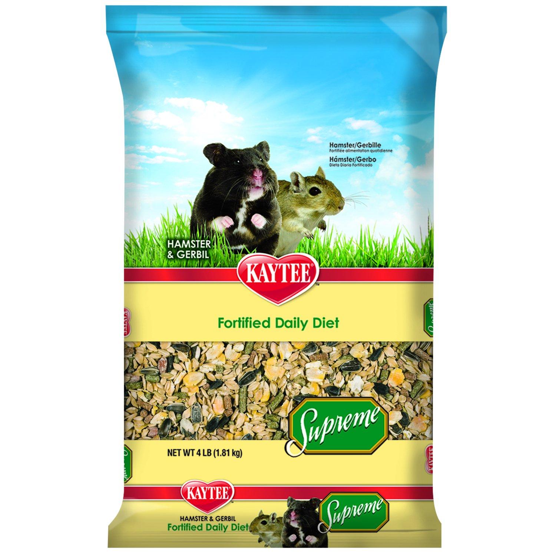 Kaytee Supreme Hamster and Gerbil Food, 4-lb bag