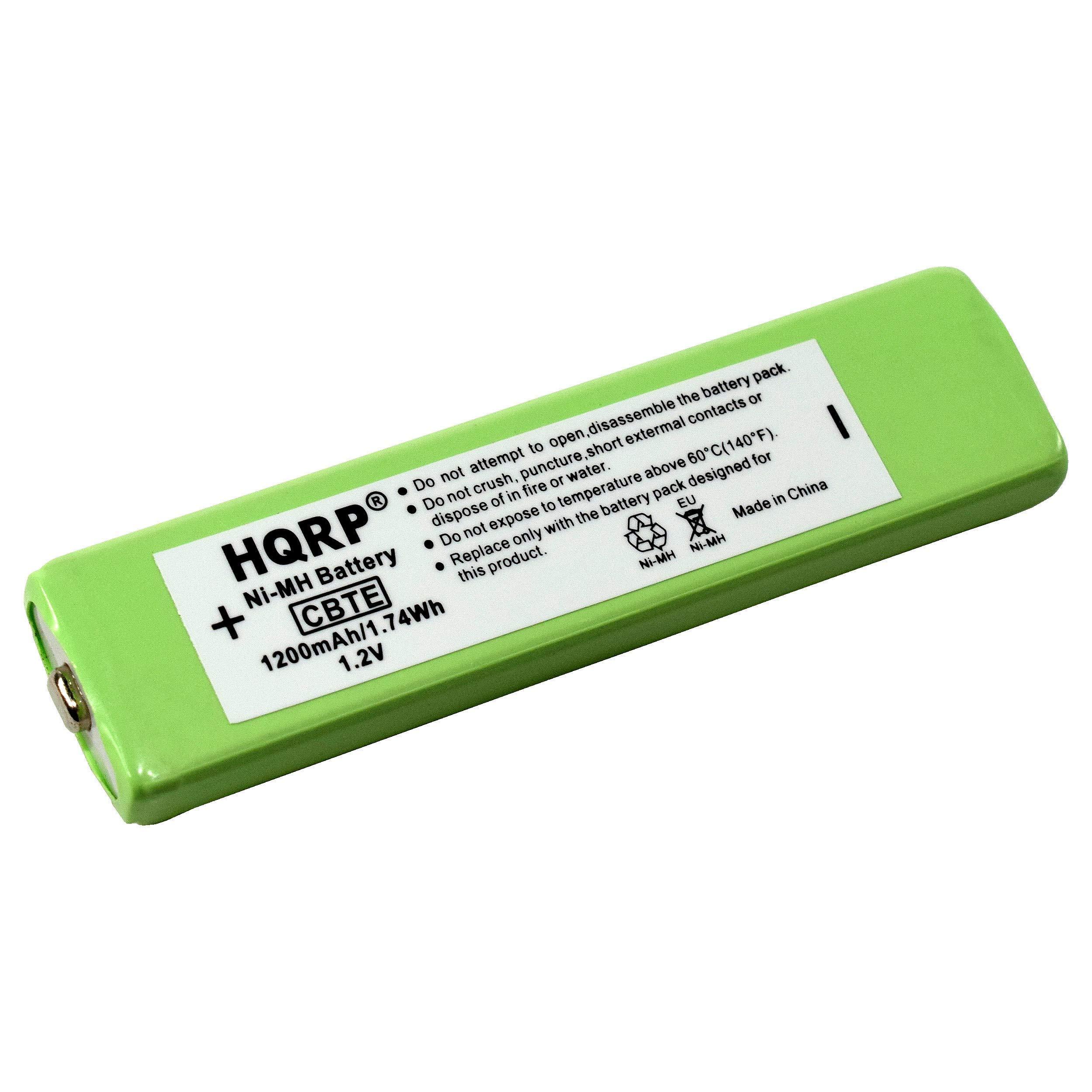 HQRP Portable CD/MD / MP3 Gumstick Battery Compatible with Sony NH-14WM / NH14WM / NH-14WM(A) WM-EX921 WM-609 Replacement
