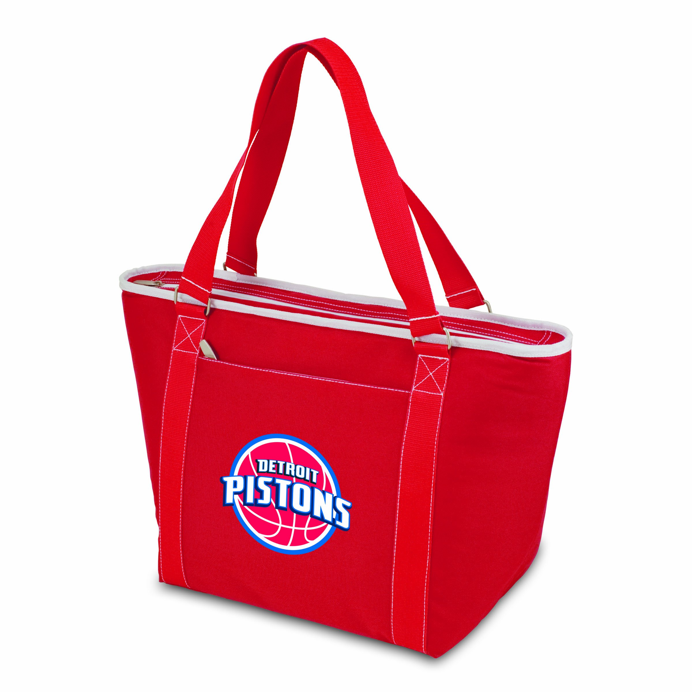 PICNIC TIME NBA Detroit Pistons Topanga Insulated Cooler Tote, Red