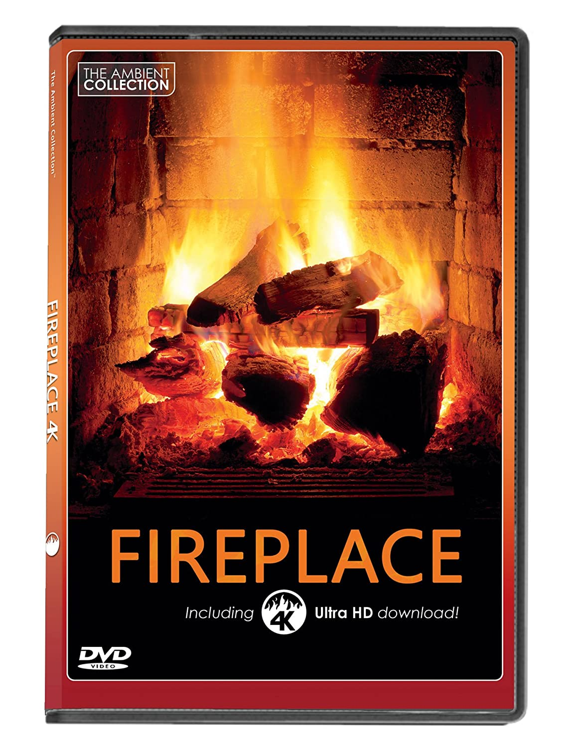 Amazon com: FIRE DVD   FIREPLACE with 4K ULTRA HD Download