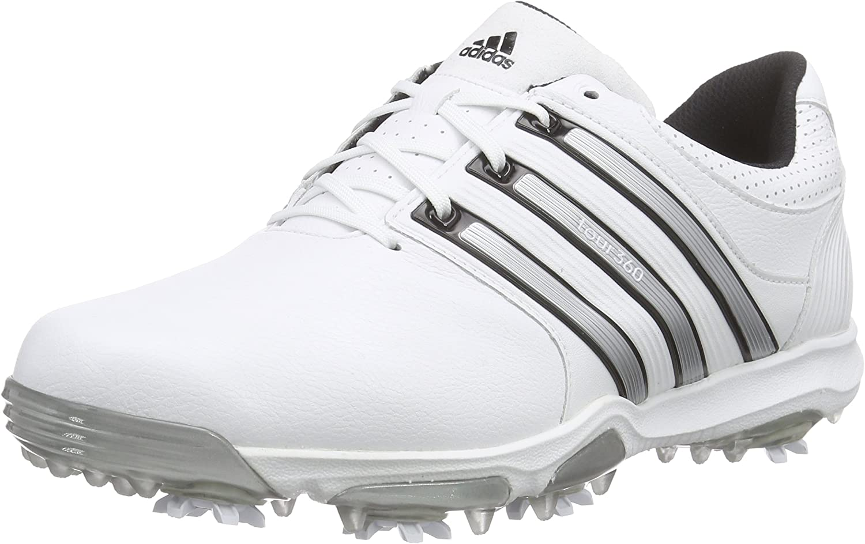 espíritu Piñón lavar  adidas Tour360 X Wd, Men's Golf Shoes, White (White/Black/Silver Metallic),  8 UK (42 EU): Amazon.co.uk: Shoes & Bags