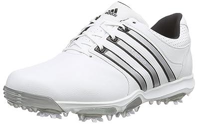adidas Tour 360 X Wd, Chaussures de Golf Homme, Blanc (White Black