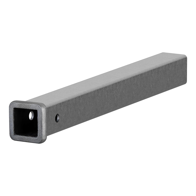 CURT 49240  2-Inch x 24-Inch Weld-On Raw Steel Trailer Hitch Receiver Tube