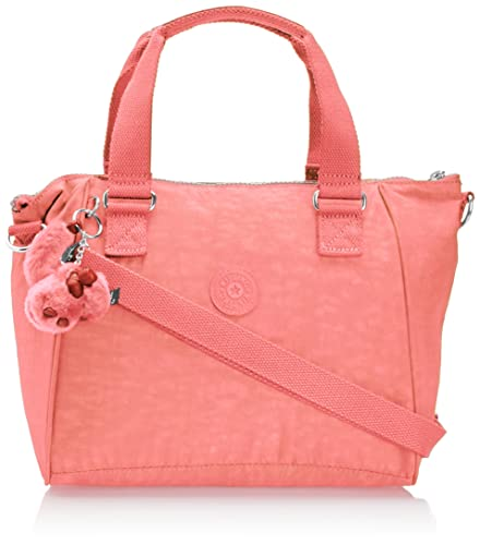 e86e02acef Image Unavailable. Image not available for. Color  Kipling Amiel Women s  Handbag - Pink Coral ...
