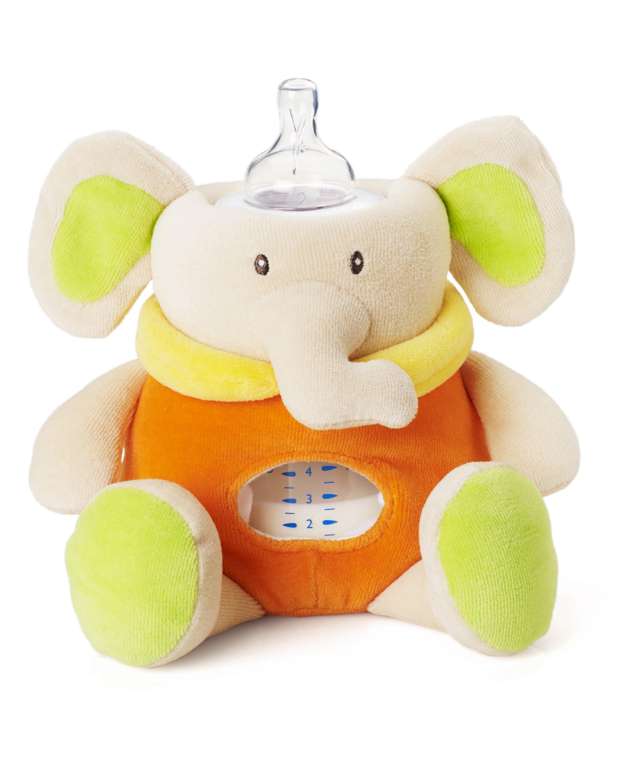 Milkysnugz Elephant Bottle Holder (Orange)