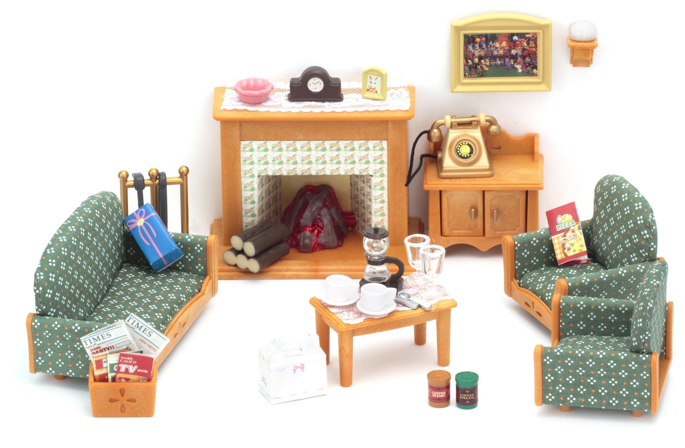 Sylvanian Families Deluxe Living Room Set EBay