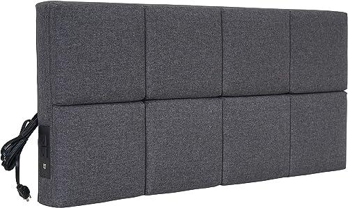 Ace Casual Furniture Tech Smart Twin Bed USB Headboard - a good cheap modern headboard