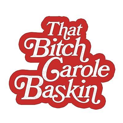 That Bitch Carole Baskin/Free Joe Exotic Sticker: Arts, Crafts & Sewing