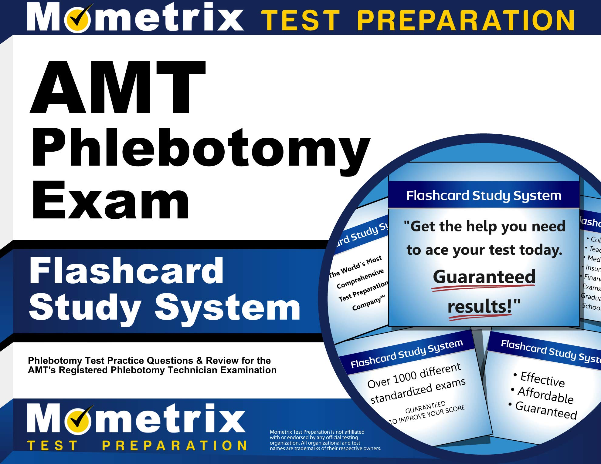 AMT Phlebotomy Exam Flashcard Study System Test