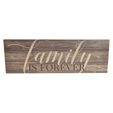 Family is Forever Wood Wall Sign 6x18