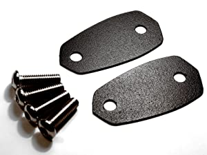 Mirror Block Plates for the Kawasaki Ninja 400R / 650R / ER-6F / 1000 / Z1000SX