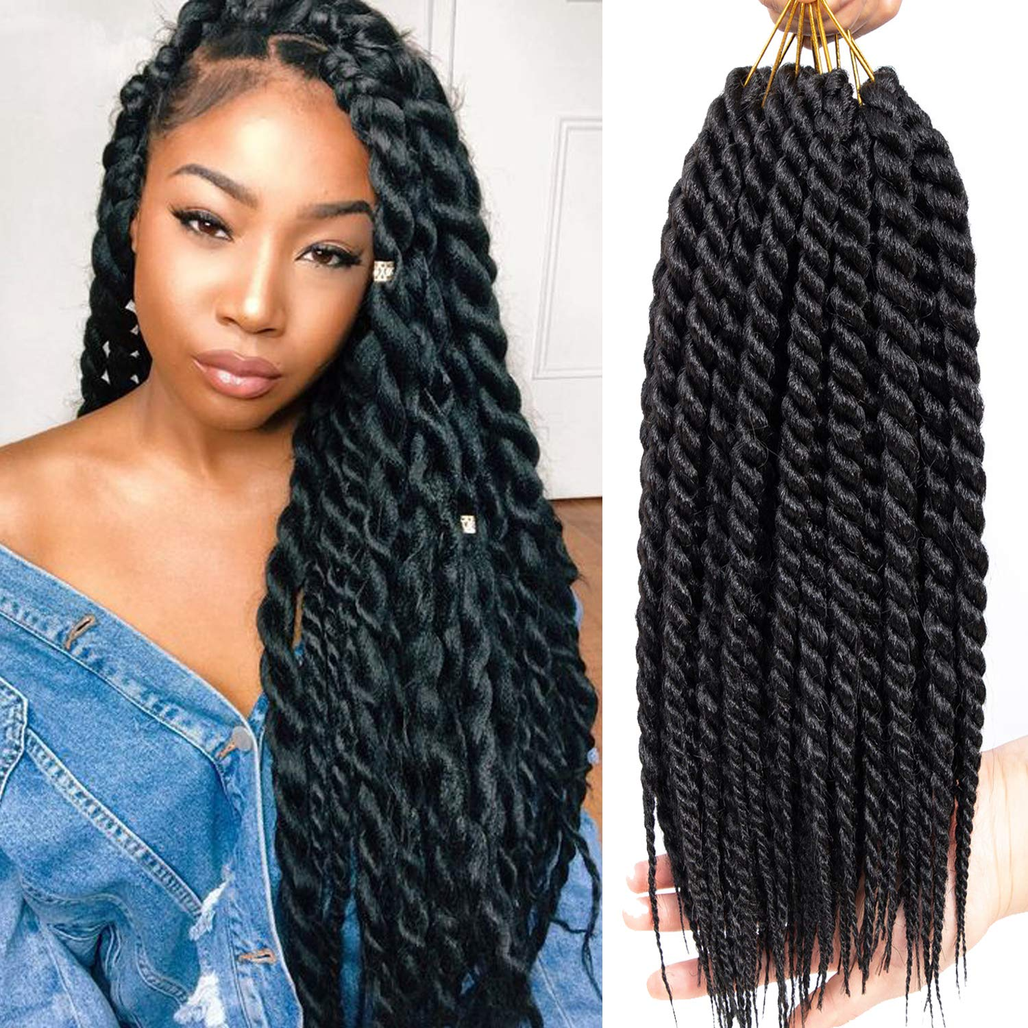 Image result for jumbo crochet twist hair