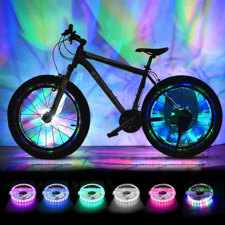 BRIONAC Rechargeable LED Bike Wheel Lights