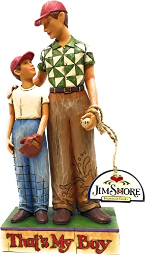 Jim Shore That s My Boy Father and Son Figurine