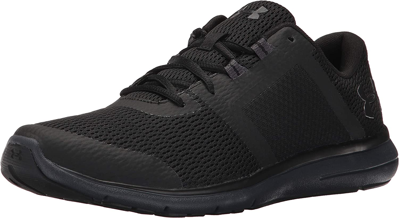UA W Micro G Monza Black//Purple Running Shoe US Womens Size 9.5 1238600-002