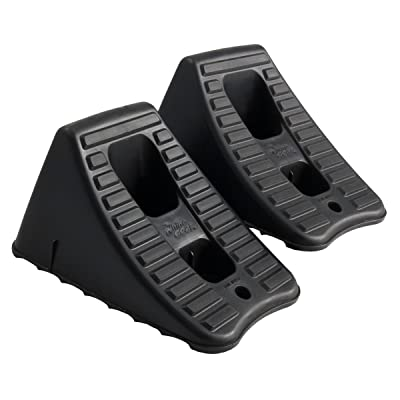 FloTool 11930MI Heavy Duty Wheel Chock, 2 Pair: Automotive
