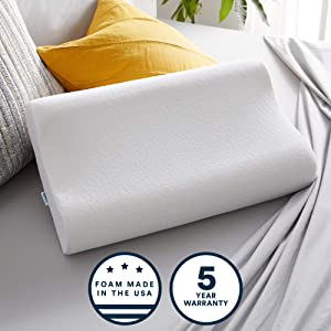 Sleep Innovations Contour Memory Foam Pillow Review