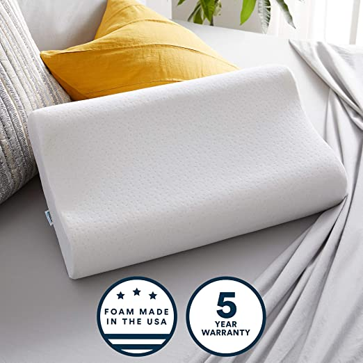 Amazon Com Sleep Innovations Contour Memory Foam Standard Size