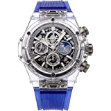 Hublot Big Bang Mechanical (Automatic) Skeletonized Dial Mens Watch 406.SX.0120.RT (Certified Pre-Owned)