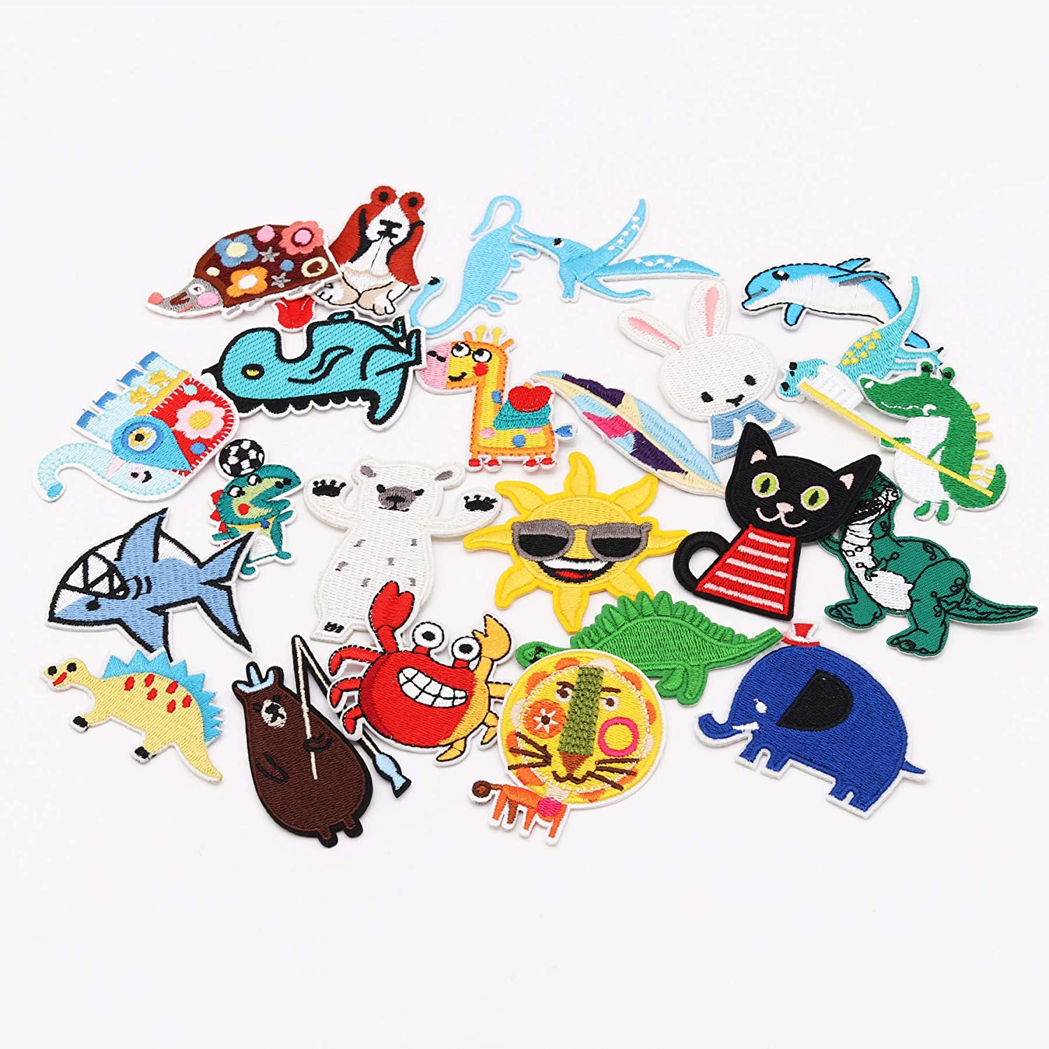 Arts C Bag,Caps Kids Clothing Butterfly B 13pcs Jacket 13pcs Multicolor Butterfly Iron on Patches Embroidered Motif Applique Assorted Size Decoration Sew On Patches Custom Patches for DIY Jeans