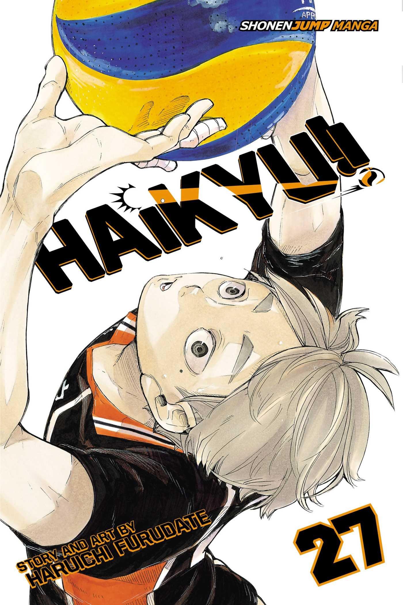 Haikyu!! - Tomo 27 - Haruichi Furudate - Manga ( Ingles)