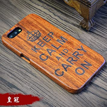 Amazon.com: OnePlus3T/3 Case, Handmade Rosewood Wooden ...