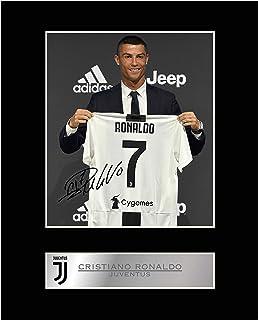 Cristiano Ronaldo Photo dédicacée encadrée Juventus FC # 2