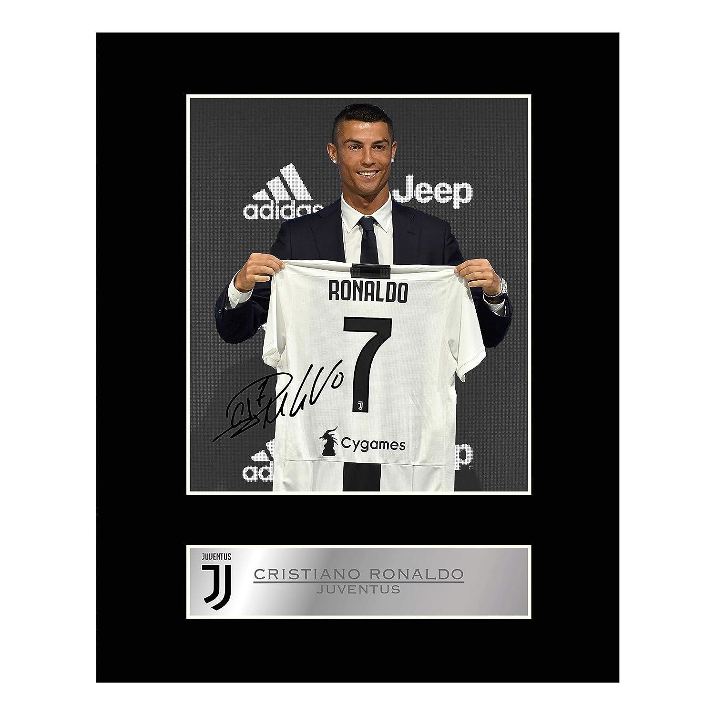 Cristiano Ronaldo Photo d/édicac/ée encadr/ée Juventus FC # 2