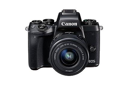 Canon EOS M5 Mirrorless Camera + EF-M 15 - 45 mm