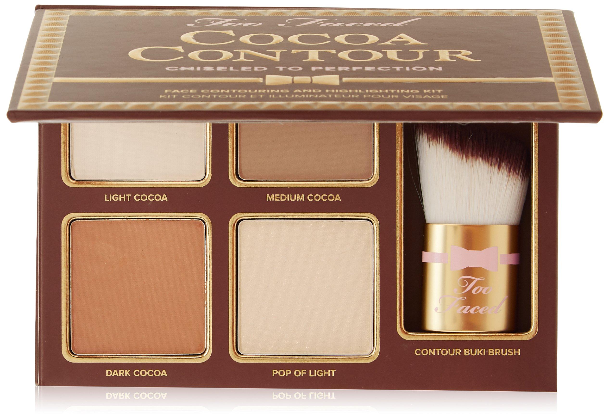 Too Faced Cocoa Contour Chiseled To Perfection Beauty Kuas Mascara Shadow Anastasia