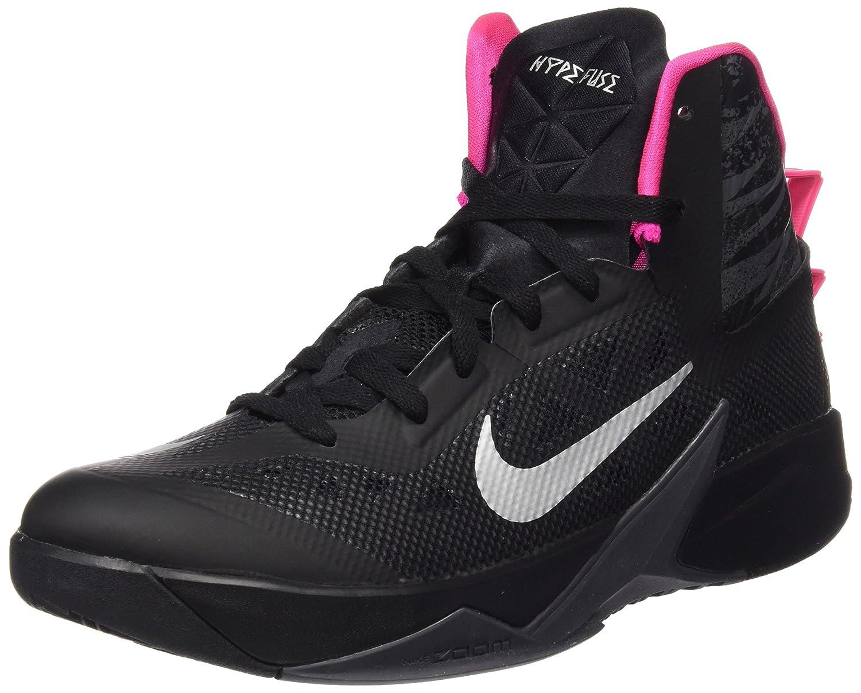 pretty nice 16e8e a0141 Amazon.com   Nike Men s Zoom Hyperfuse 2013 Blck Mtllc Slvr Drk Gry Pnk Fl  Basketball Shoe 10.5 Men US   Basketball
