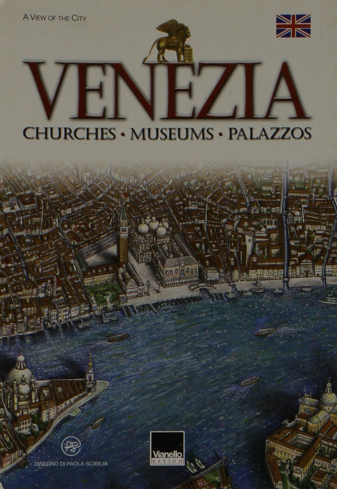 Small Poster--Map of Venice ebook