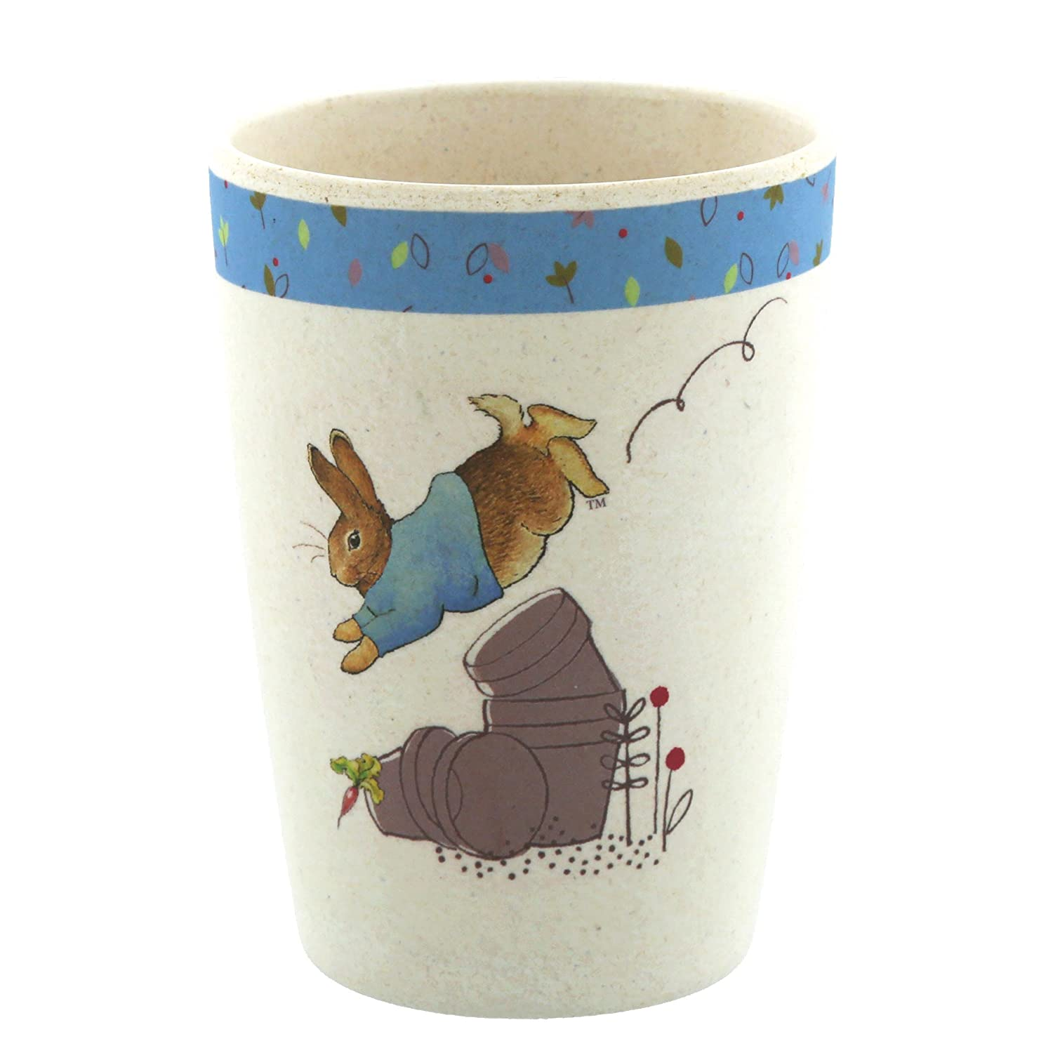 Beatrix Potter A28794 Peter Rabbit Organic Beaker Enesco