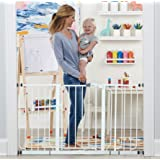 Regalo 56-Inch Extra WideSpan Walk Through Baby Gate, Includes 4-Inch, 8-Inch and 12-Inch Extension, 4 Pack of Pressure…