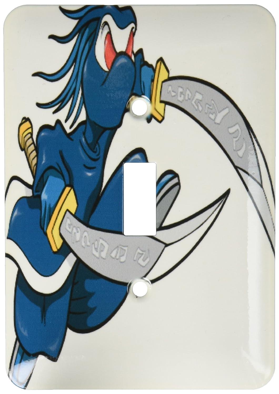3dRose lsp_102272_1 Ninja Warrior Monster Character Single ...