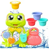 AOLUXLM Bath Toys for Toddlers Baby Kids, Bathtub Toys for Boy Girl as Gifts with Stack Cup Toys for Swimming Pool