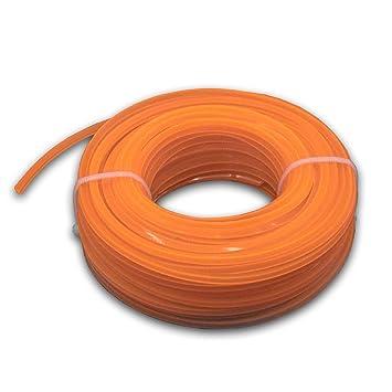 vhbw Recortador de hilos 2.4 mm, Naranja, 15 m, 4 de ...