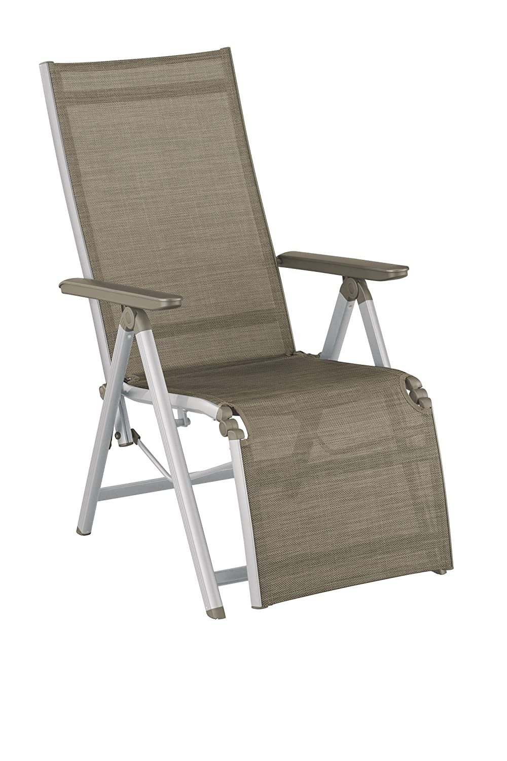 Amazon De Kettler 0308016 0210 Family Relaxsessel Silber Taupe