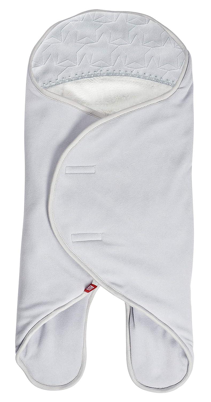 Gris Clair//Blanc RED CASTLE Babynomade Couverture Double Polaire Edition limit/ée 2018//2019