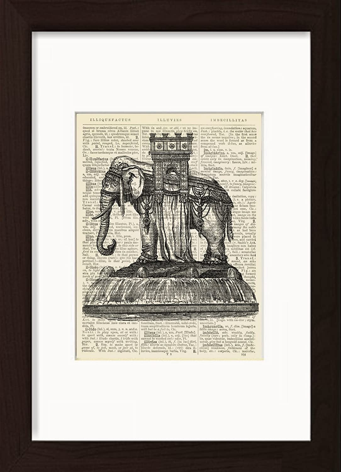 A Guinness A Day Ready To Frame Mounted //Matted Dictionary Art Print