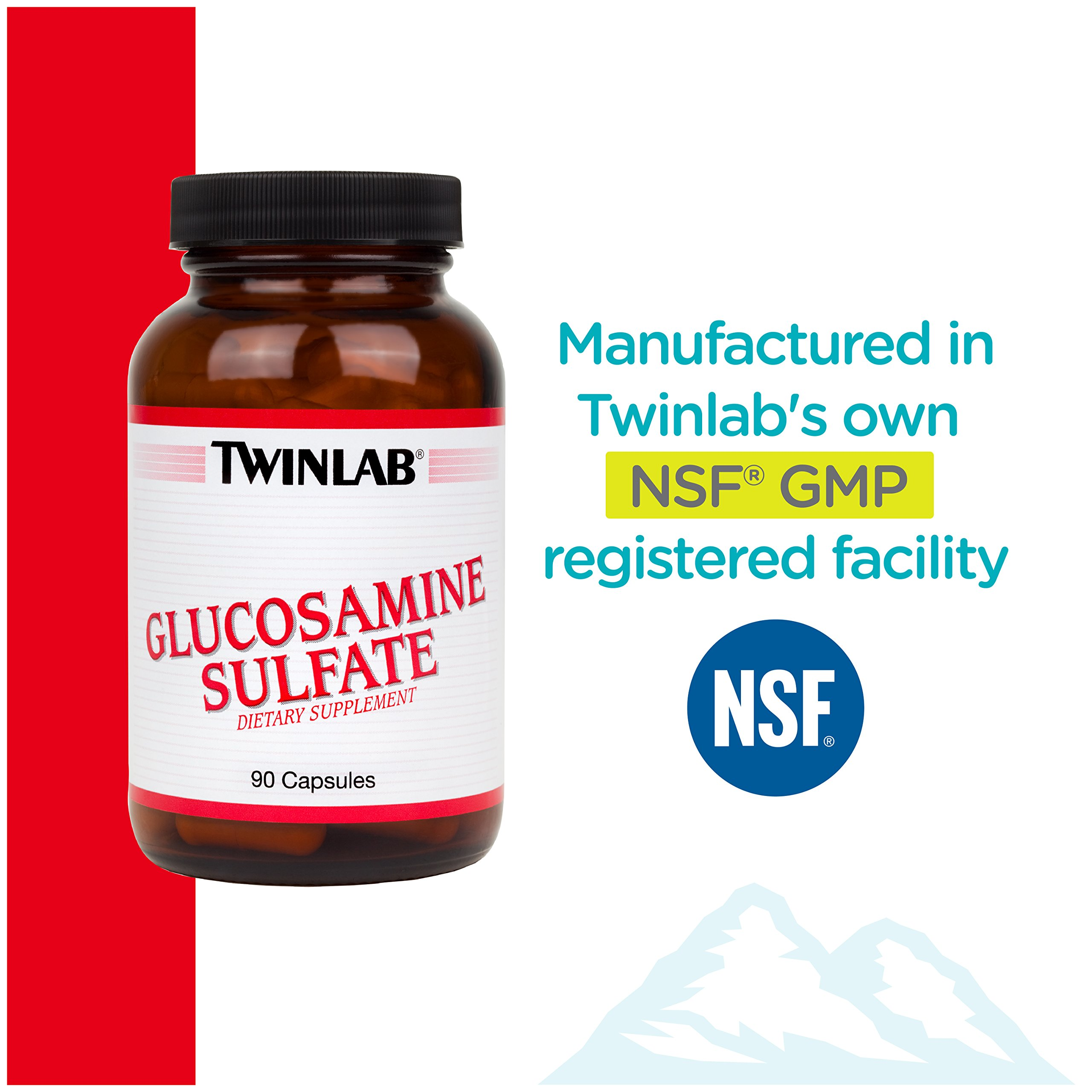 Twinlab Glucosamine Sulfate 1500 mg, 90 Capsules by Twinlab (Image #6)
