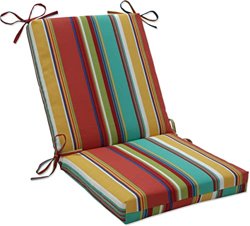 Pillow Perfect Outdoor/Indoor Westport Spring Square Corner Chair Cushion